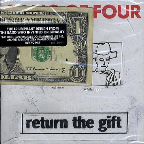 Gang Of Four Return The Gift - Sealed With 1 Dollar Note US Promo ...