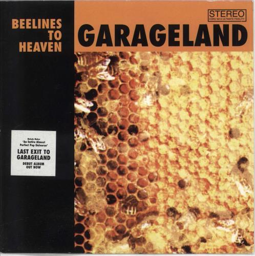 """Garageland Beelines To Heaven 7"""" vinyl single (7 inch record) UK GCU07BE716819"""