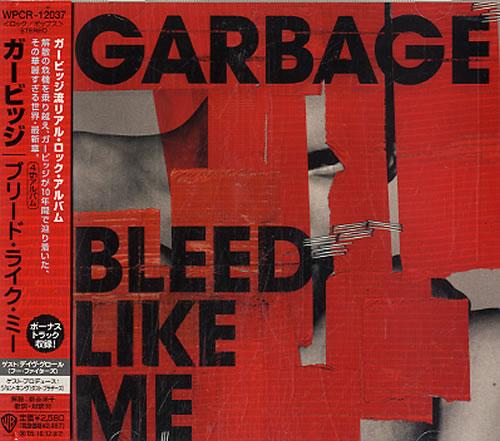 Garbage Bleed Like Me + Obi - Sealed CD album (CDLP) Japanese GBGCDBL327457