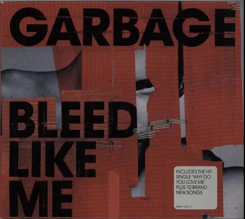 Garbage Bleed Like Me + Slipcase CD album (CDLP) UK GBGCDBL633569