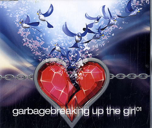 Garbage Breaking Up The Girl 3-CD album set (Triple CD) UK GBG3CBR211028