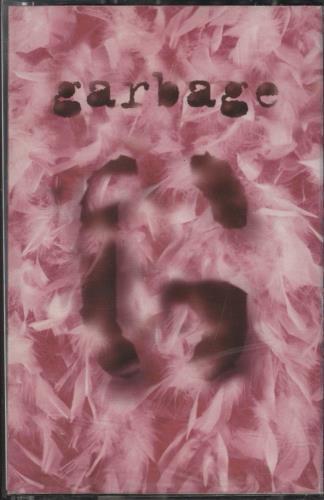 Garbage Garbage - 2nd - Clear cassette album UK GBGCLGA769325