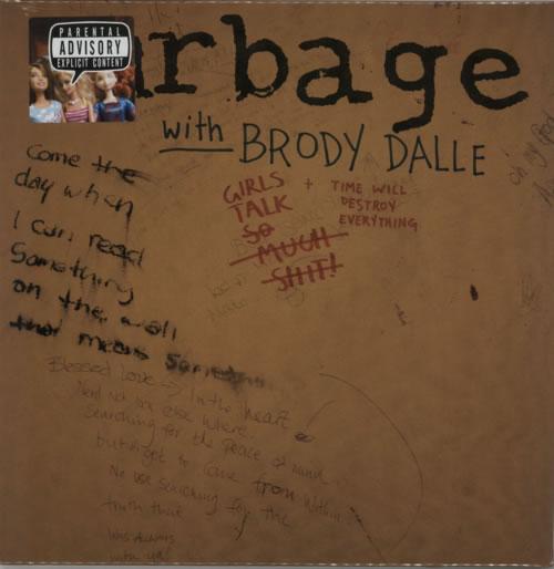 "Garbage Girls Talk - RSD - Sealed 10"" vinyl single (10"" record) UK GBG10GI618817"