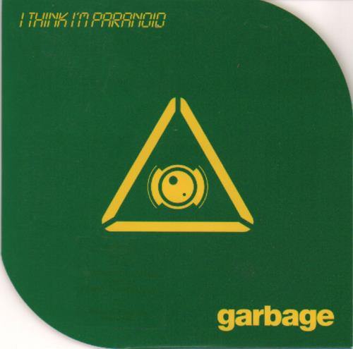 "Garbage I Think I'm Paranoid - CD2 CD single (CD5 / 5"") UK GBGC5IT120645"