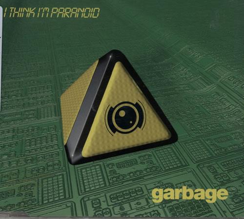 """Garbage I Think I'm Paranoid CD single (CD5 / 5"""") UK GBGC5IT204143"""