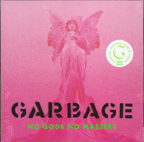 Garbage No Gods No Monsters - White Vinyl - Sealed vinyl LP album (LP record) UK GBGLPNO774757