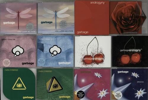 "Garbage Quantity of 18 CDs CD single (CD5 / 5"") UK GBGC5QU634167"