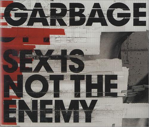 Garbage Sex Is Not The Enemy CD/DVD single set UK GBGSDSE326701