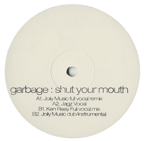 "Garbage Shut Your Mouth 12"" vinyl single (12 inch record / Maxi-single) UK GBG12SH223582"