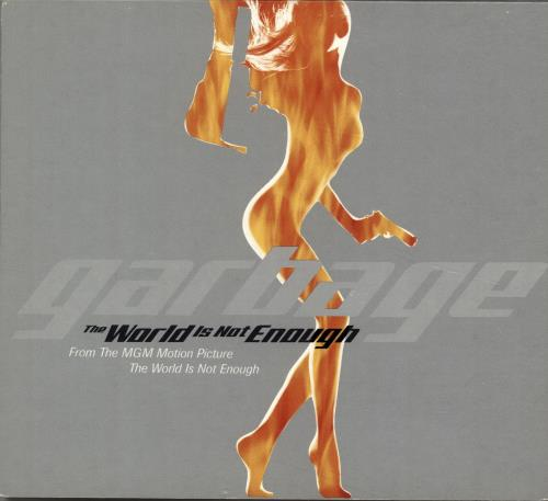 """Garbage The World Is Not Enough CD single (CD5 / 5"""") UK GBGC5TH147628"""
