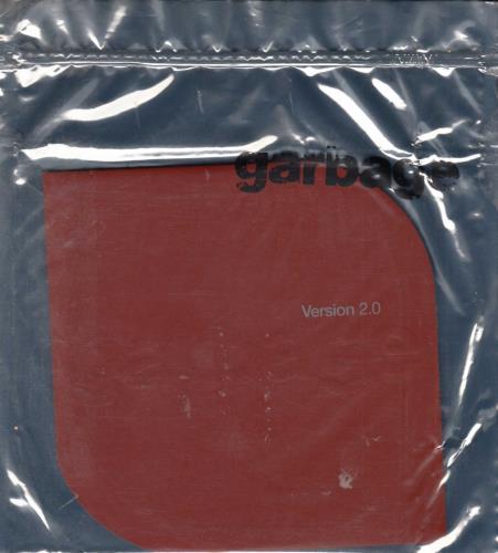 Garbage Version 2.0 + Static Bag CD album (CDLP) UK GBGCDVE687971
