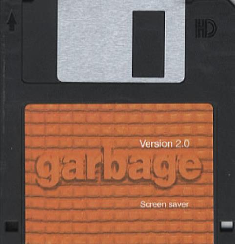 Garbage Version 2.0 Screen Saver memorabilia UK GBGMMVE118570
