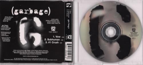 "Garbage Vow CD single (CD5 / 5"") German GBGC5VO116905"