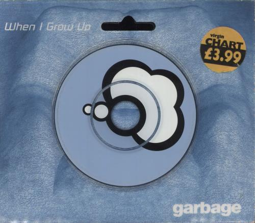 """Garbage When I Grow Up 3"""" CD single (CD3) UK GBGC3WH131547"""