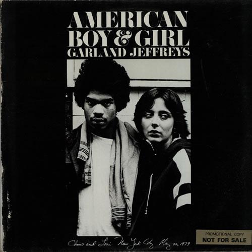 Garland Jeffreys American Boy & Girl - Promo Stickered vinyl LP album (LP record) UK GJFLPAM636381