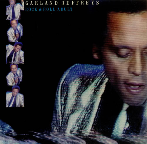 Garland Jeffreys Rock & Roll Adult - Gold promo stamped vinyl LP album (LP record) UK GJFLPRO445551