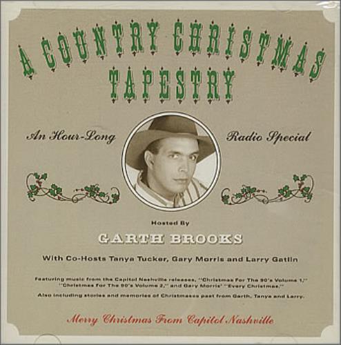 Garth Brooks Christmas Album.Garth Brooks A Country Christmas Tapestry Us Promo Cd Album Cdlp