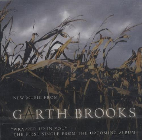 """Garth Brooks Wrapped Up In You CD single (CD5 / 5"""") US GARC5WR230588"""
