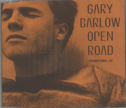 "Gary Barlow Open Road - 2-track CD single (CD5 / 5"") UK GBLC5OP673980"