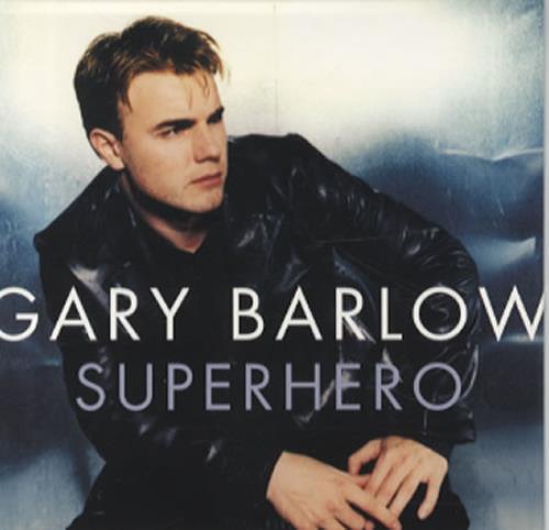 "Gary Barlow Superhero CD single (CD5 / 5"") US GBLC5SU105056"