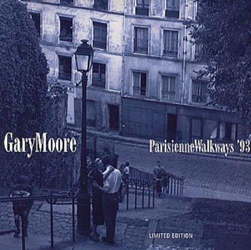 """Gary Moore Parisienne Walkways 93 - Numbered 7"""" vinyl single (7 inch record) UK MOO07PA41084"""
