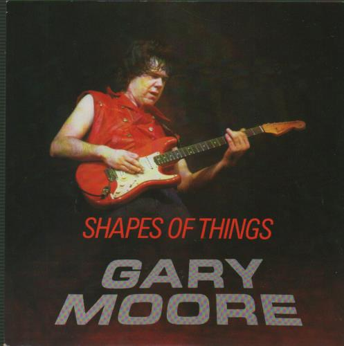 "Gary Moore Shapes Of Things 7"" vinyl single (7 inch record) UK MOO07SH654117"