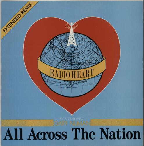 "Gary Numan All Across The Nation 12"" vinyl single (12 inch record / Maxi-single) UK NUM12AL41669"