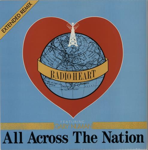 "Gary Numan All Across The Nation 12"" vinyl single (12 inch record / Maxi-single) UK NUM12AL649218"