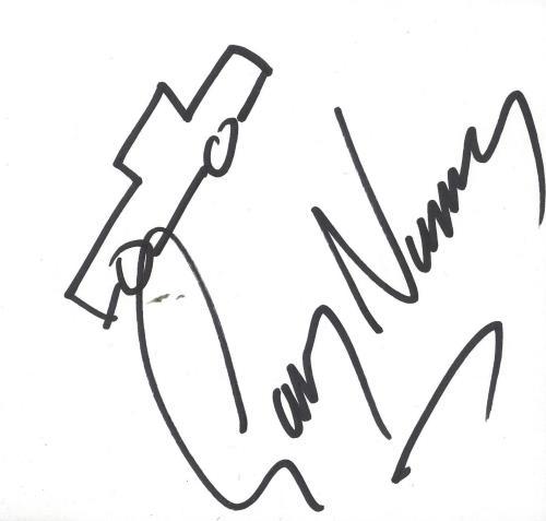 Gary Numan Autograph memorabilia UK NUMMMAU724331