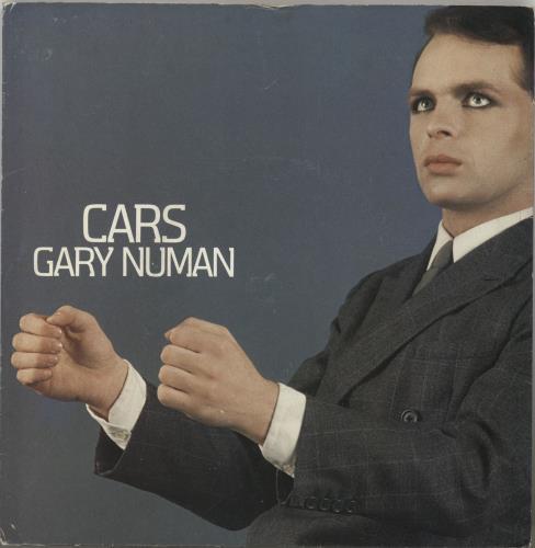 "Gary Numan Cars - paper label + p/s 7"" vinyl single (7 inch record) UK NUM07CA601196"