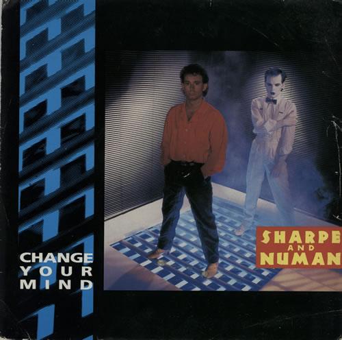 "Gary Numan Change Your Mind 7"" vinyl single (7 inch record) UK NUM07CH295735"