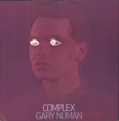 "Gary Numan Complex - P/S 7"" vinyl single (7 inch record) UK NUM07CO43550"