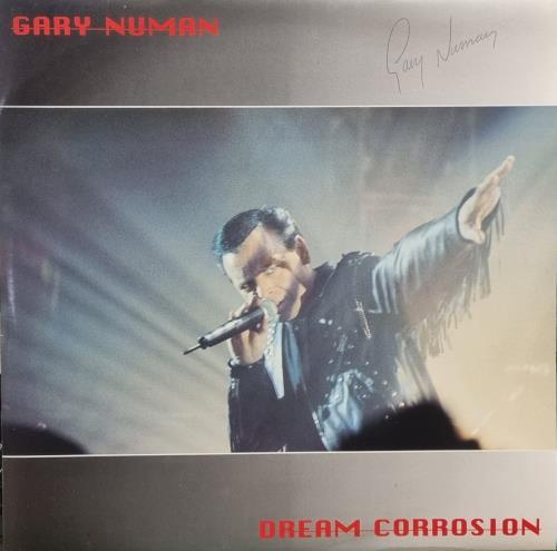 Gary Numan Dream Corrosion - Autographed Triple LP 3-LP vinyl record set (Triple Album) UK NUM3LDR48211