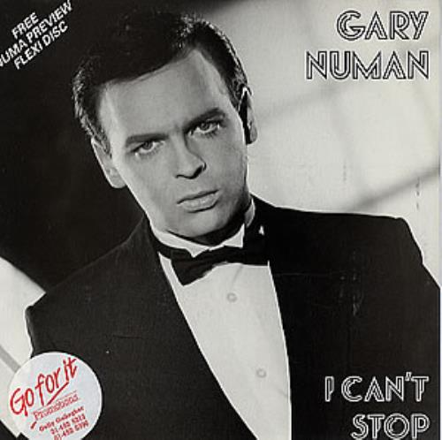 "Gary Numan I Can't Stop 7"" vinyl single (7 inch record) UK NUM07IC160635"