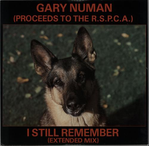 "Gary Numan I Still Remember 12"" vinyl single (12 inch record / Maxi-single) UK NUM12IS648729"
