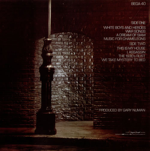 Gary Numan I, Assassin - EX vinyl LP album (LP record) UK NUMLPIA265549