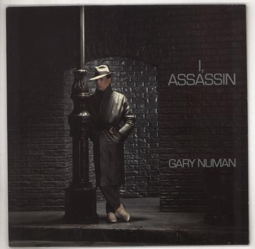 Gary Numan I, Assassin vinyl LP album (LP record) UK NUMLPIA676934