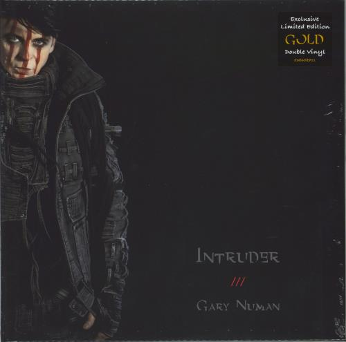 Gary Numan Intruder - Gold Vinyl - Sealed 2-LP vinyl record set (Double Album) UK NUM2LIN774642