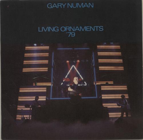 Gary Numan Living Ornaments '79 vinyl LP album (LP record) UK NUMLPLI679473
