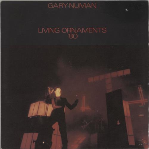 Gary Numan Living Ornaments '80 vinyl LP album (LP record) UK NUMLPLI657370
