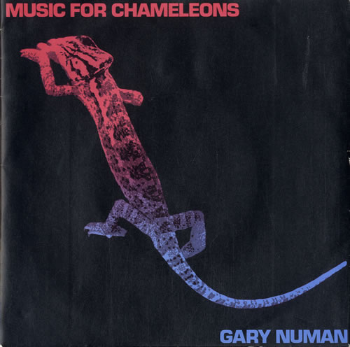 "Gary Numan Music For Chameleons - Mispressed Sleeve 7"" vinyl single (7 inch record) UK NUM07MU599827"