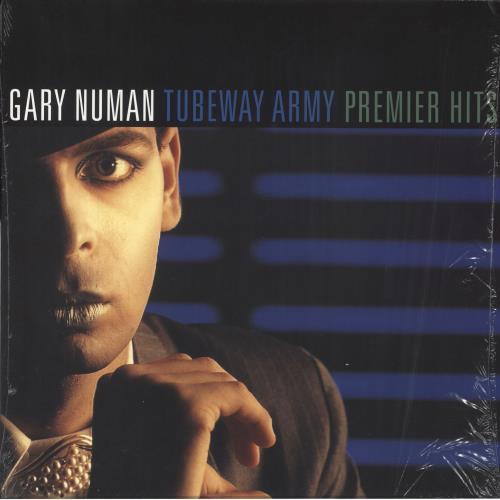 Gary Numan Premier Hits 2-LP vinyl record set (Double Album) UK NUM2LPR682088