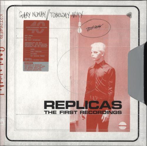 Gary Numan Replicas: The First Recordings - Sage Green Vinyl - Sealed 2-LP vinyl record set (Double Album) UK NUM2LRE731359
