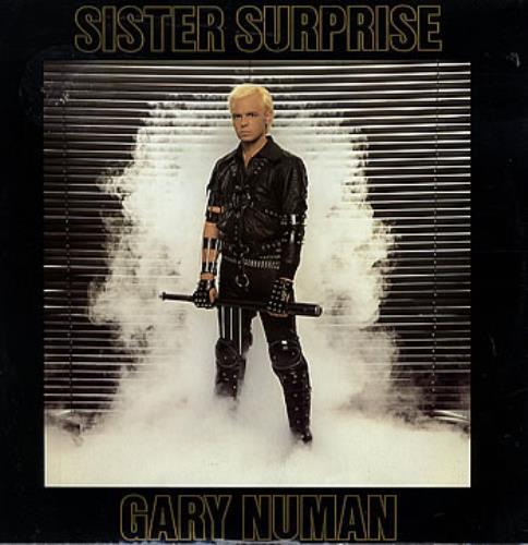"Gary Numan Sister Surprise 12"" vinyl single (12 inch record / Maxi-single) UK NUM12SI104226"