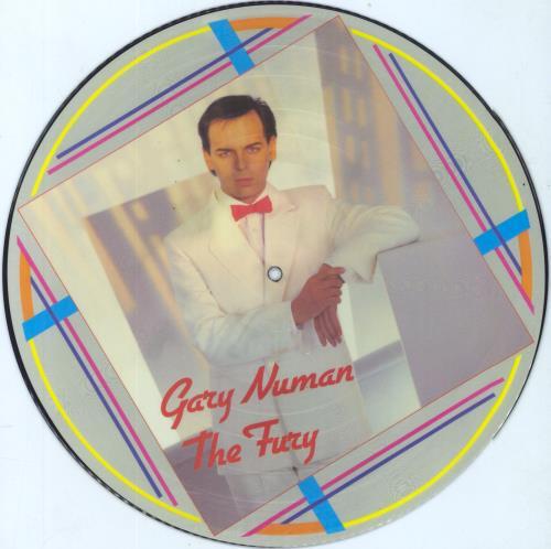 Gary Numan The Fury picture disc LP (vinyl picture disc album) UK NUMPDTH43840