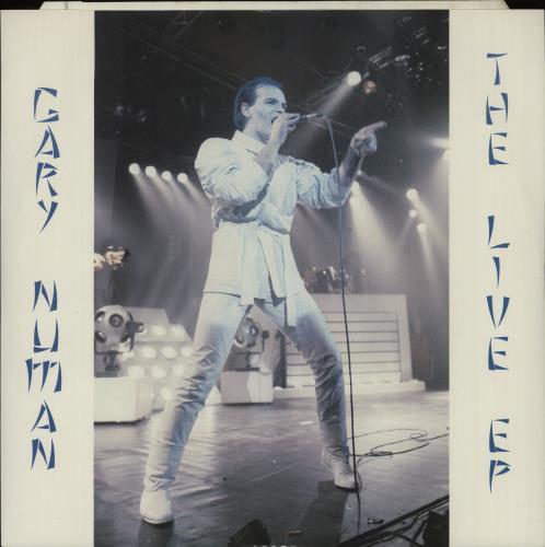 "Gary Numan The Live EP 12"" vinyl single (12 inch record / Maxi-single) UK NUM12TH664286"