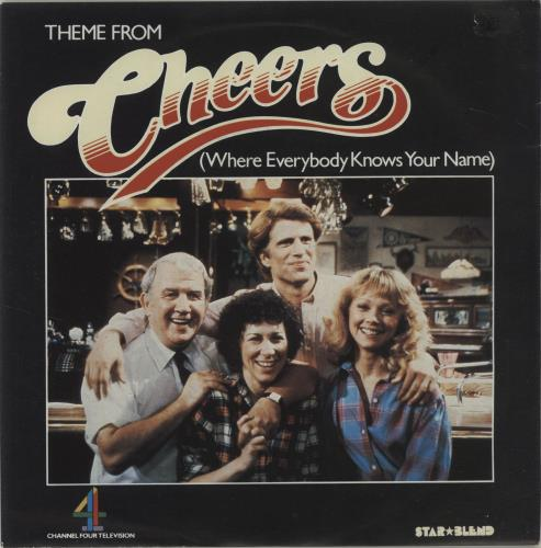 """Gary Portnoy Theme From Cheers (Where Everybody Knows Your Name) 7"""" vinyl single (7 inch record) UK GA607TH278704"""