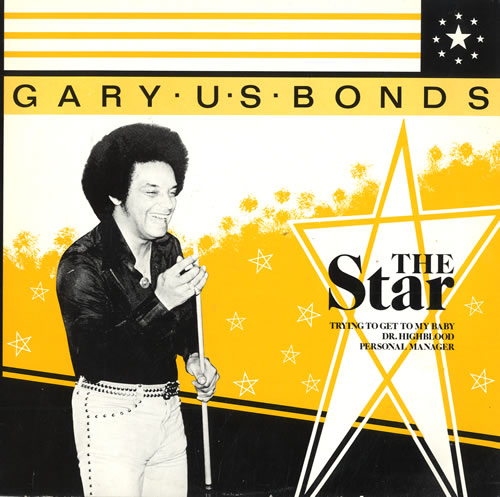 "Gary U.S. Bonds The Star 10"" vinyl single (10"" record) UK GUB10TH565149"