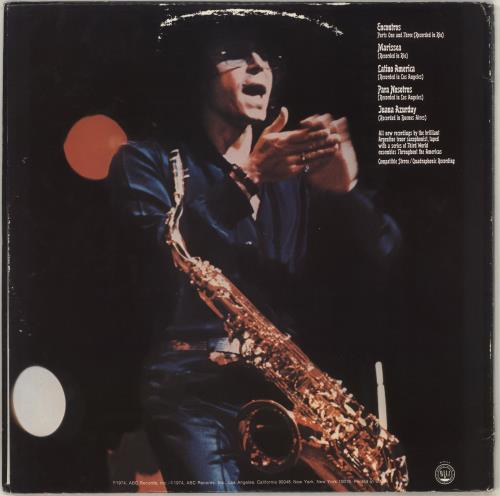 Gato Barbieri Chapter Two: Hasta Siempre - Quad vinyl LP album (LP record) US GB6LPCH708255