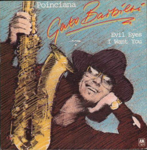 "Gato Barbieri Poinciana 7"" vinyl single (7 inch record) UK GB607PO663941"